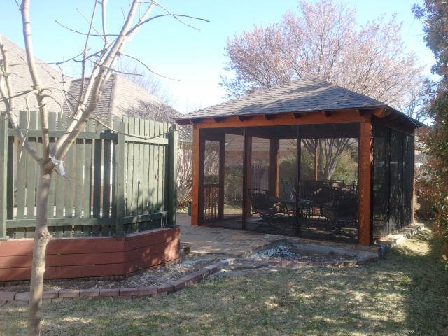 Grapevine outdoor remodeling