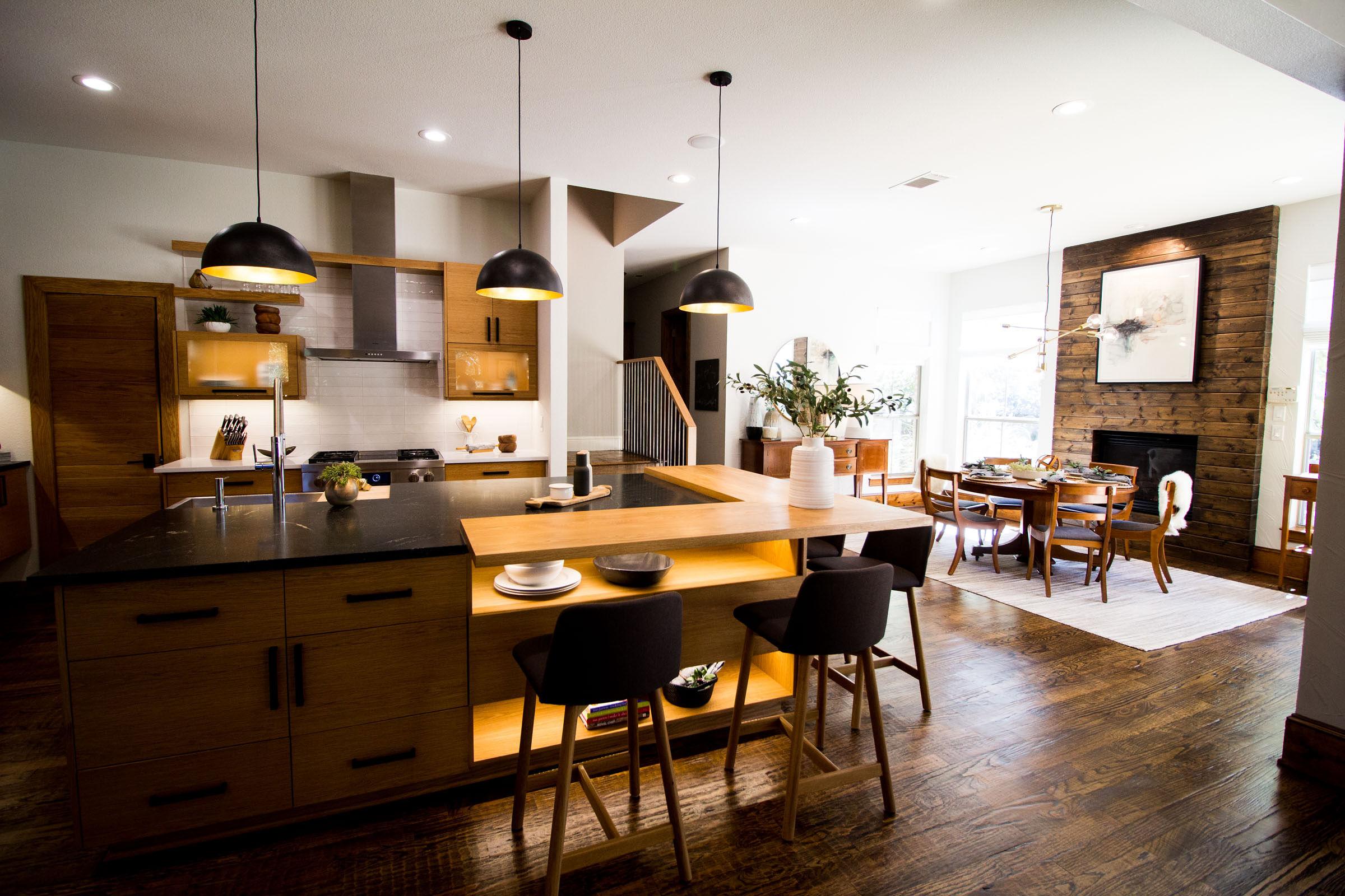 Scandinavian kitchen remodel